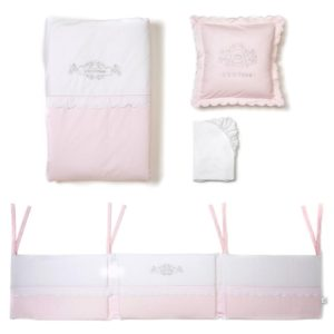 Pink Cot Bed Bedding