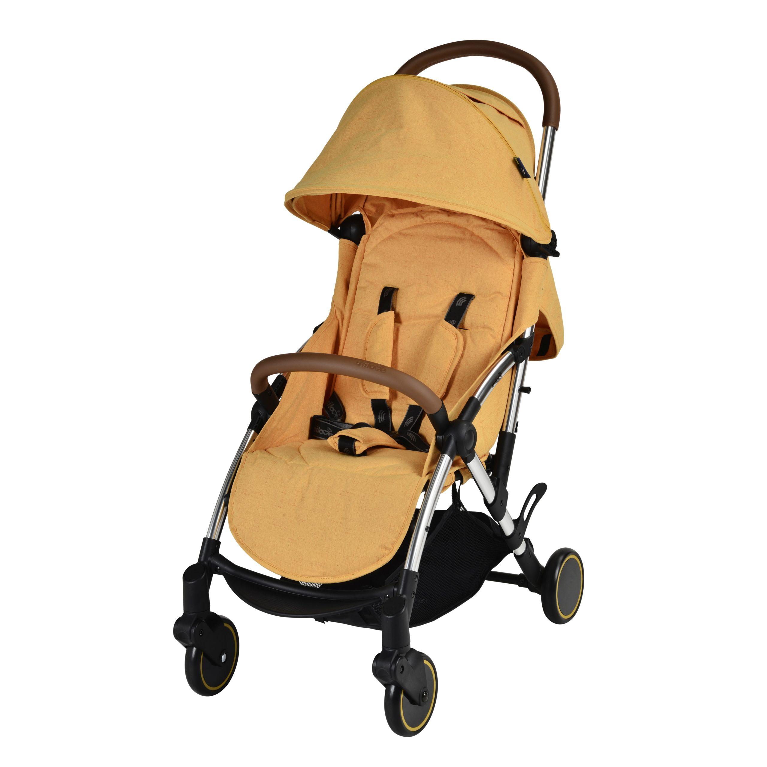 Emmaljunga Slight Premium Pushchair - Tuscany Yellow