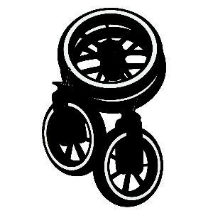 Emmaljunga NXT Wheel Sets